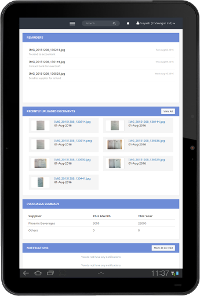 Online application to keep track of your invoices and purchases